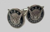 OBA Round Cuff Links