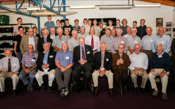 Our Over-80s group with Power of 9 students