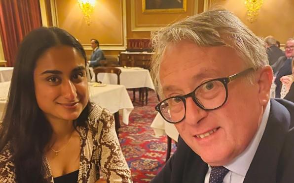 Ayesha & Jamie Stone MP