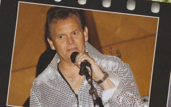 Nick Miller hitting the mic in 2011