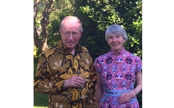 The Macleod's celebrating their 50th wedding anniversary last June