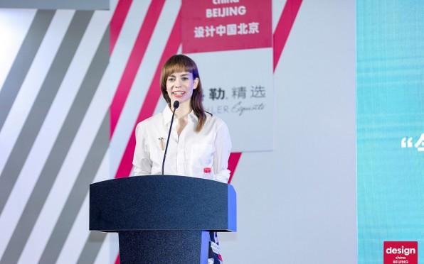 Anouchka in action in Beijing