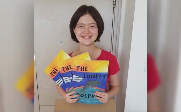 Sarah and her new book!