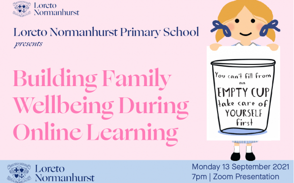 All parents are invited to 'Building Family Wellbeing' webinar on Monday