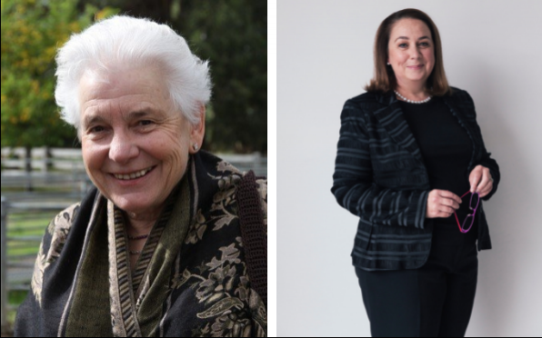 Sr Deirdre Browne IBVM and Kate Eastman SC, recognised in Queen's Birthday Honours