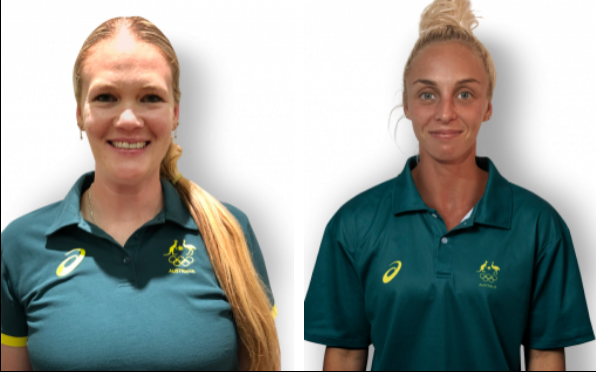 Ellen and Liz are part of the Australian Olympic Team!