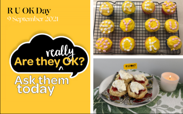 This week we marked RU OK? Day by connecting in a Tutor Group bake-off