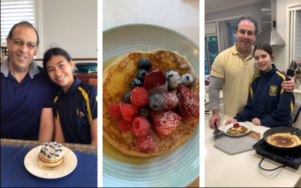 Primary Father Daughter Pancake Breakfast