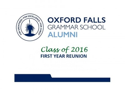 Gallery - Class of 2016 - 1st Reunion