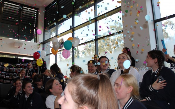 Surprise party for Class of 2020 as part of final weeks of school