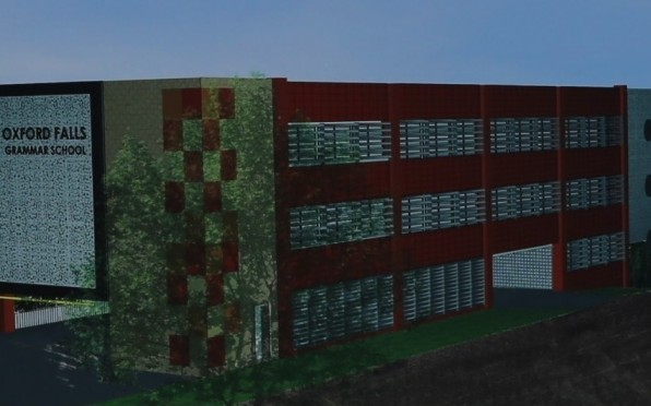 """Artist impression of the OFGS learning centre """"K Block"""""""